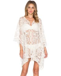 Jen's Pirate Booty Wanderlust Lace French Kaftan - Natural