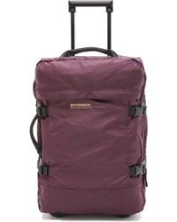 Bensimon Roller Luggage Case - Prune - Purple