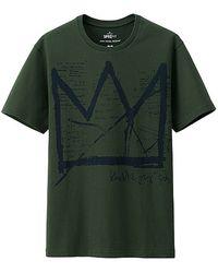 Uniqlo Men Sprz Ny Graphic Short Sleeve T (Jean-Michel Basquiat) - Lyst