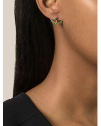 AIMEE AIMER 'Beija Flor' Earrings - Green