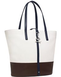 Tory Burch Toggle Tote - Lyst