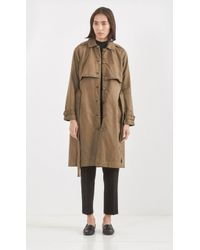 Current/Elliott The Storm Flap Trench - Green