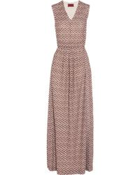 Missoni Metallic Crochetknit Maxi Dress - Lyst