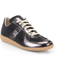 Maison Margiela Replica Lace-Up Sneakers - Lyst