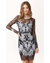 For Love And Lemons Lacey Dreams Mini Dress - Lyst