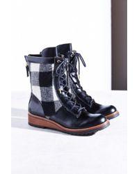 Matt Bernson Windsor Wool Plaid Hiker Boot - Lyst