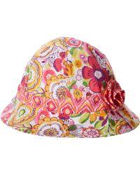 Vera Bradley Baby Sun Hat Infant - Pink