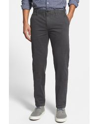 Burberry Brit | Skinny Fit Stretch Cotton Twill Chinos | Lyst