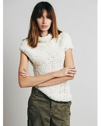 Free People In The Long Run Pullover - Lyst