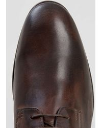 LAC - Shambles Brown Leather Shoes - Lyst