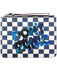 Marc By Marc Jacobs Sophisticato Don'T Panic Wristlet - Lyst
