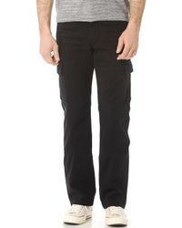 7 For All Mankind Carsen Cargo Pants - Lyst