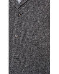 Steven Alan - Patch Pocket Topcoat - Lyst