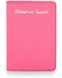 Rebecca Minkoff Passport Holder- Adventure Awaits - Lyst