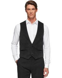 Calvin Klein Slim-fit Velvet Tuxedo Vest - Lyst