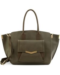 Time's Arrow Jo Saffiano Leather Tote Bag - Lyst