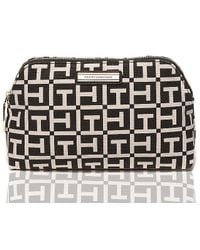 Tommy Hilfiger Signature Cosmetic Bag - Lyst