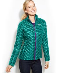 The North Face Thermoball Quilted Jacket - Lyst