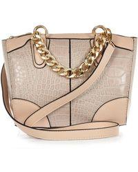 River Island Pink Chain Handle Mini Bower Bag - Lyst