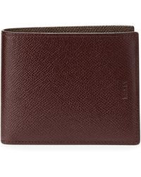 Bally Bollen Bi-color Leather Wallet - Lyst