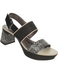Sam Edelman Keira Leather Open-Toe Platform Sandals - Lyst