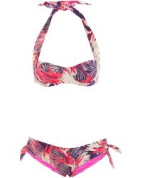 Seilenna Kea Tropical Night Four Way Underwire Bikini multicolor - Lyst