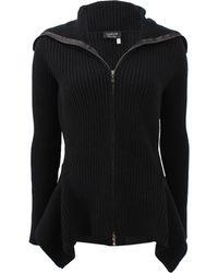 Lanvin Peplum Zip Jacket - Lyst