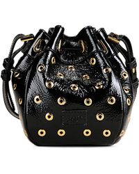 Red Valentino   Bucket Bag With Eyelets Detail   Lyst