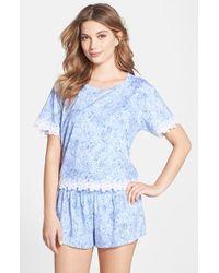Kensie Print Pajama Set - Lyst
