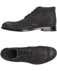 DSquared² Hightop Dress Shoe - Grey