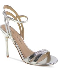 Chinese Laundry Lilliana Evening Sandals silver - Lyst
