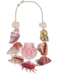 Tatty Devine - Shell Grotto Statement Necklace - Lyst