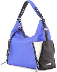 Botkier Leroy Zipper-Detail Hobo Bag - Lyst