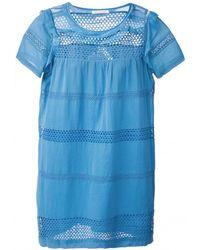 Etoile Isabel Marant Caleen Lace Dress - Lyst