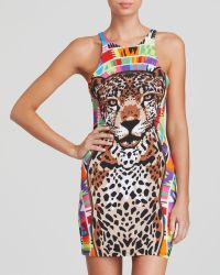 Mara Hoffman Jaguar Mini Dress Swim Cover Up - Lyst