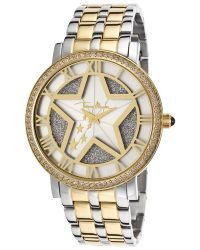 Thierry Mugler - Women'S Two-Tone Steel Silver Dial - Lyst