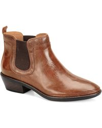 Söfft Vesna Leather Chelsea Boots - Brown