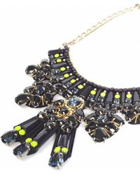 Matthew Williamson Clustered Jewel Necklace - Lyst