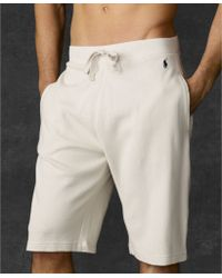 Polo Ralph Lauren Waffle Thermal Shorts - Lyst