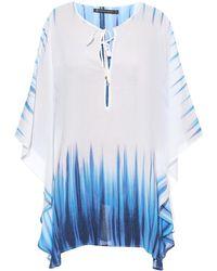 ViX Nile-Print Kaftan blue - Lyst