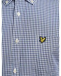 Lyle & Scott - Long Sleeve Gingham Shirt - Lyst