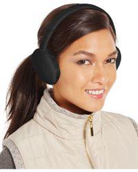Style & Co. Style&co. Fleece Earmuffs, Only At Macy's - Black