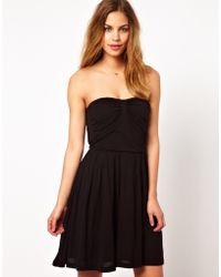 Dress Gallery - Bandeau Mini Dress - Lyst
