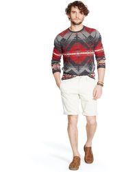 Denim & Supply Ralph Lauren Patterned Cotton Sweater - Lyst
