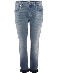 True Religion Grace Low-rise Boyfriend Jeans - Lyst