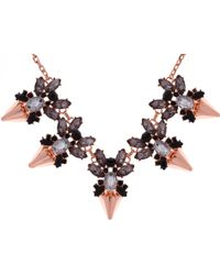 Ted Baker - Arnah Jewelled Arrow Necklace - Lyst