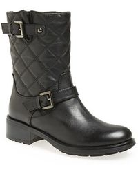 Aquatalia by Marvin K 'Sherry' Weatherproof Moto Boot - Lyst