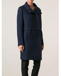 Costume National Zip Coat - Lyst