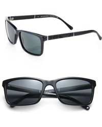 Burberry 56mm Acetate Sunglasses - Lyst