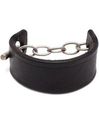 Parts Of Four Leather Toggle Bracelet - Lyst